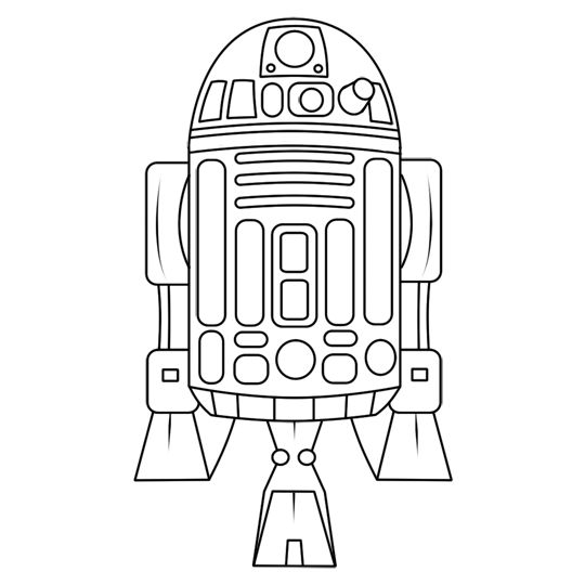 r2d2 stencil | Want something REALLY different? Well, another option is trying your ...