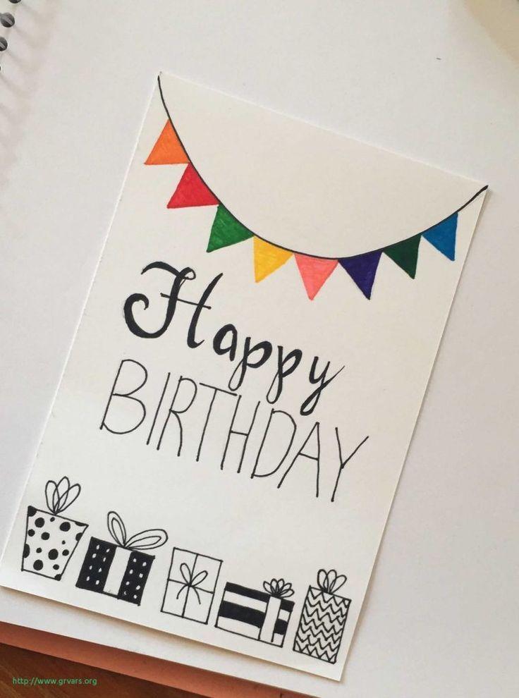 Diy Birthday Cards Ideas Diy Geschenke Birthday Card Drawing Birthday Cards For Friends Creative Birthday Cards