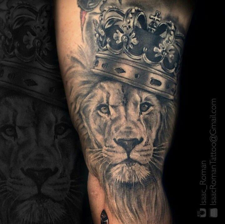 Roaring Lion Profile Tattoo Best 25+ Roarin...