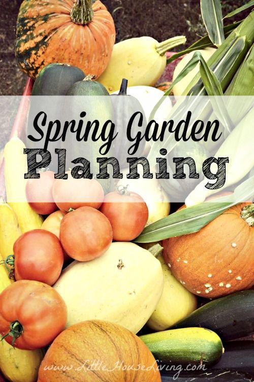 Spring Garden Planning | Little House Living