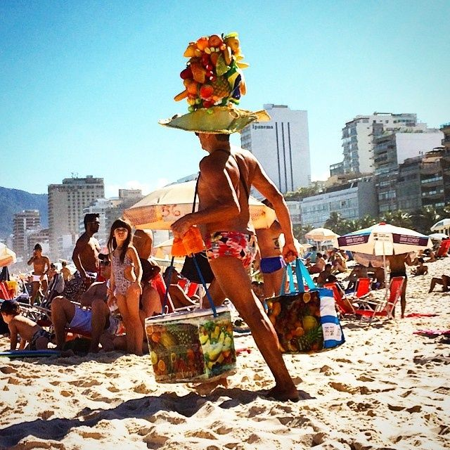 My kind of style - Lol.  Pinned by Wenmar Star, LLC from Vogue Daily — Rio de Janeiro, www.vogue.com on 7-13-14.