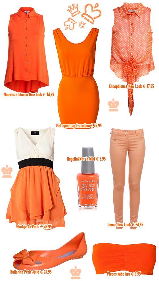 Ligt jouw oranje outfit al klaar voor Queen's day?