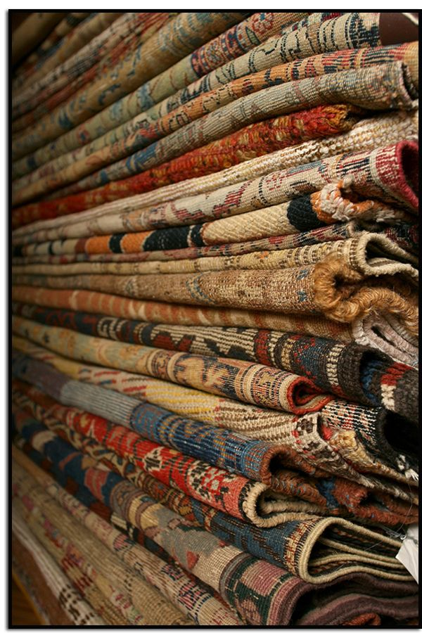 antique rugs.....they are like pieces of art