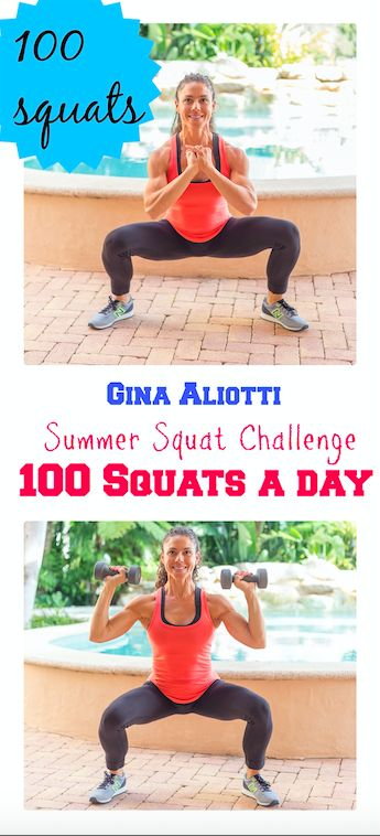 Summer Squat Challenge. 100 Squats a Day Every Day of Summer. Any Variation, Anywhere anytime, as long as you get in 100 squats a day.