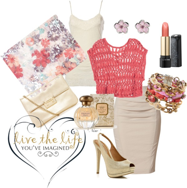 live the life..., created by janis-kswan on Polyvore