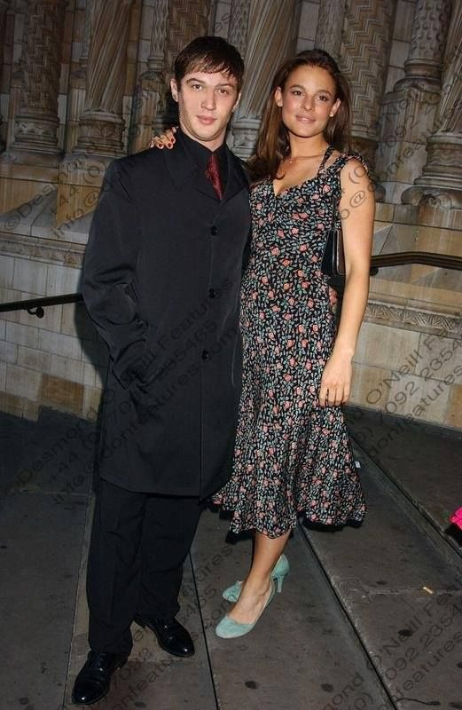 Tom Hardy and Rachael Speed (mama of Louis)