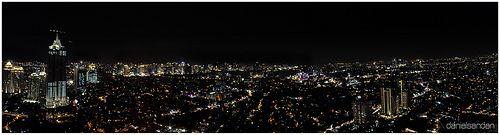 Jakarta Night Cityscape