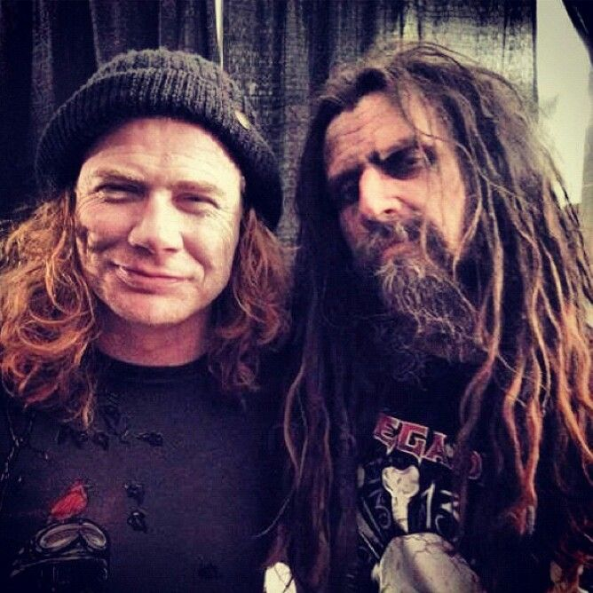 Dave with Rob Zombie