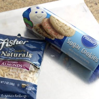 Pillsbury cookie dough sand dollar cookies!  Great Idea!