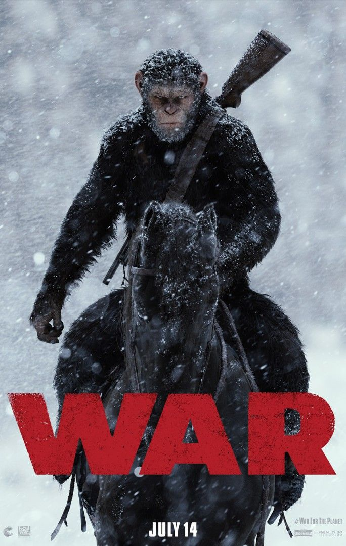 #CorrienteLatina #CorrienteNation 1st Official Trailer For WAR FOR THE PLANET OF THE APES