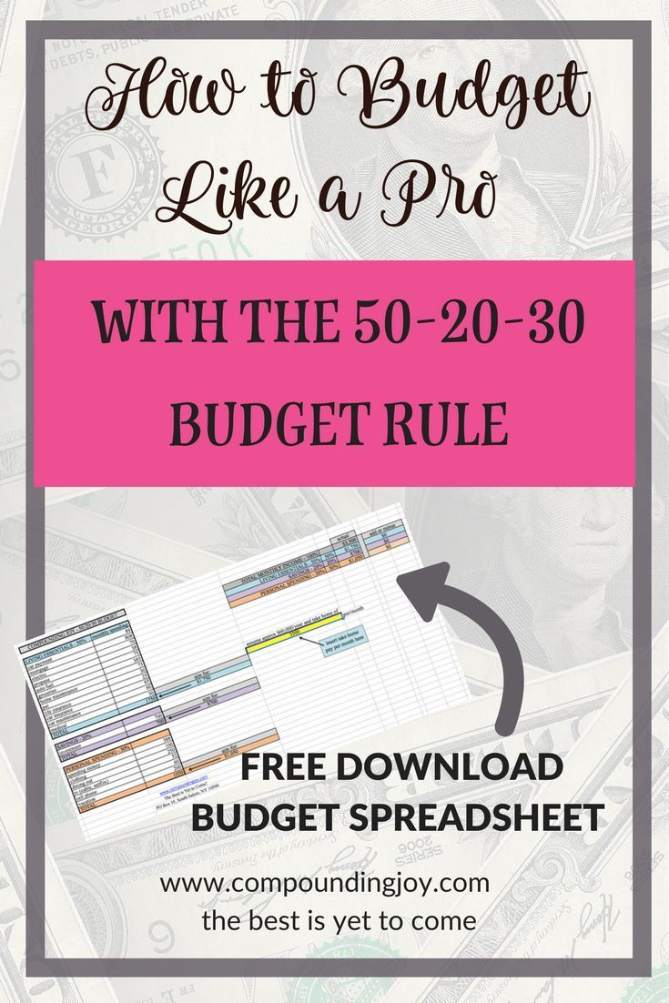 how to budget like a pro with the 50 30 20 rule money saving investing getting out of debt pinterest