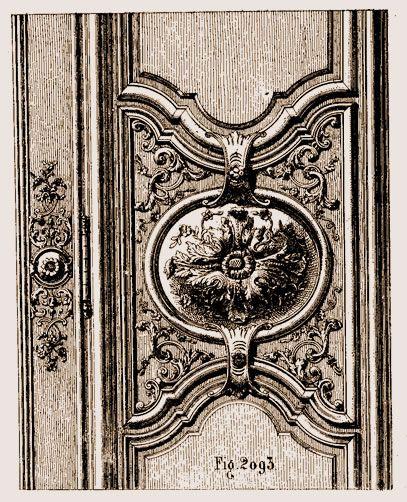 Fragment D Un Meuble Louis Xiv Au Musées Des Arts Décoratifs