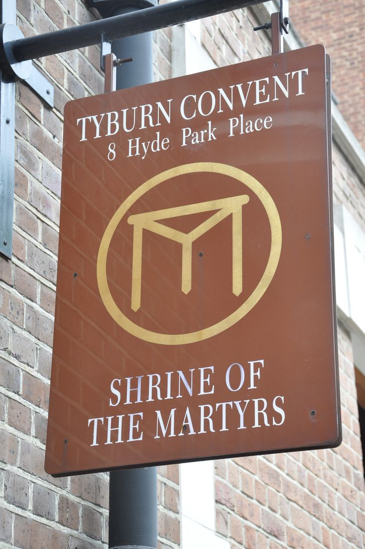 London, West: Tyburn Convent and the Shrine of the Martyrs, 8-9 Hyde Park St, W2. Visited here many years ago with my class - I vividly recall the tour of the creepy crypt where the fingernails, bone fragments, hair and skin of the 150 martyrs are preserved and on display. Chilling but utterly fascinating.