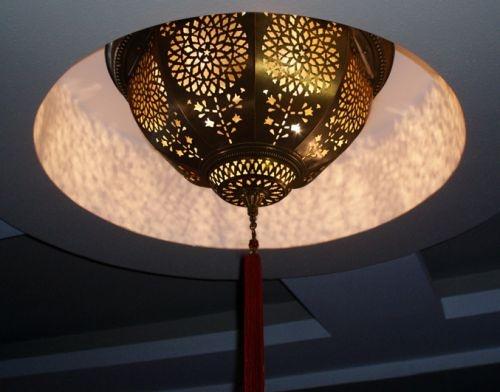 Klasik Osmanli Bakir Tavan Armatürü #ottoman #osmanli #lighting #aydinlatma