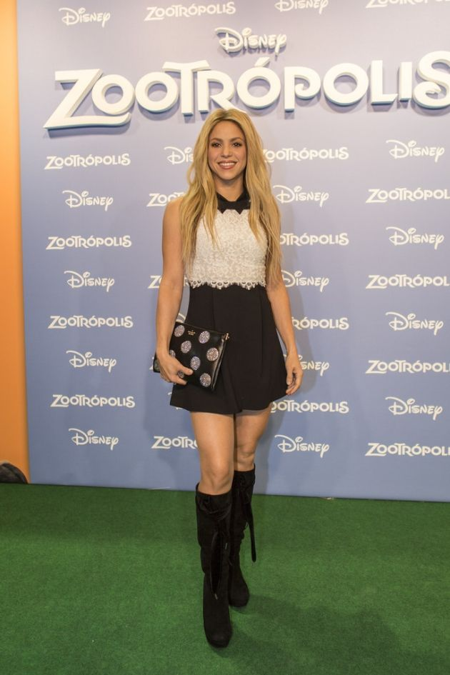 Shakira 'Zootropolis' Barcelona Premiere #Shakira