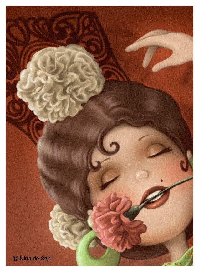 """""""Beauty"""" Nina de San"""