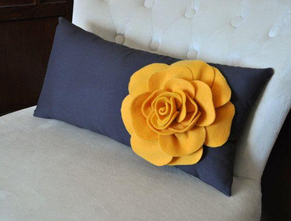 Baño De Tina Para Embarazadas:Lumbar Decorative Pillow Grey