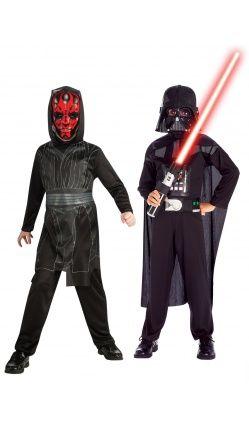 Déguisements duo Dark Maul™et Dark Vador™-Enfant-