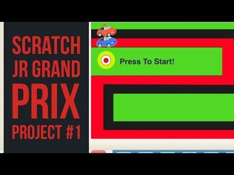 Scratch Jr Grand Prix Beginner Coding Project - YouTube