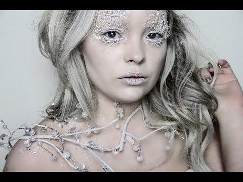 Ice Queen Makeup Tutorial ❄ Narnia's White Witch - YouTube