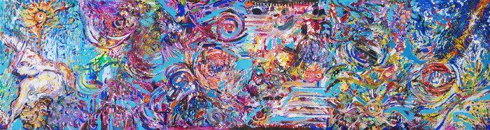 """""""Sinergie di Fragmenta 6″ sarà esposta fino al 31 Luglio 2013 a Palazzo Merati – Venezia all'interno della mostra di Arte Contemporanea """"Symphonie de Couleurs II"""""""