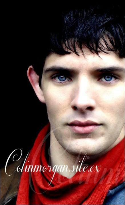Colin Morgan - as Merlin, the sorceres and King Arthur's servant.