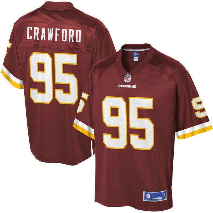 Youth Washington Redskins Corey Crawford NFL Pro Line Team Color Jersey