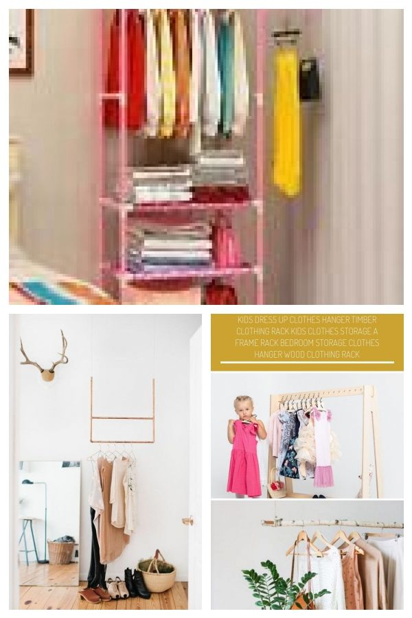 Hanging Storage Shelf Clothes Hanger