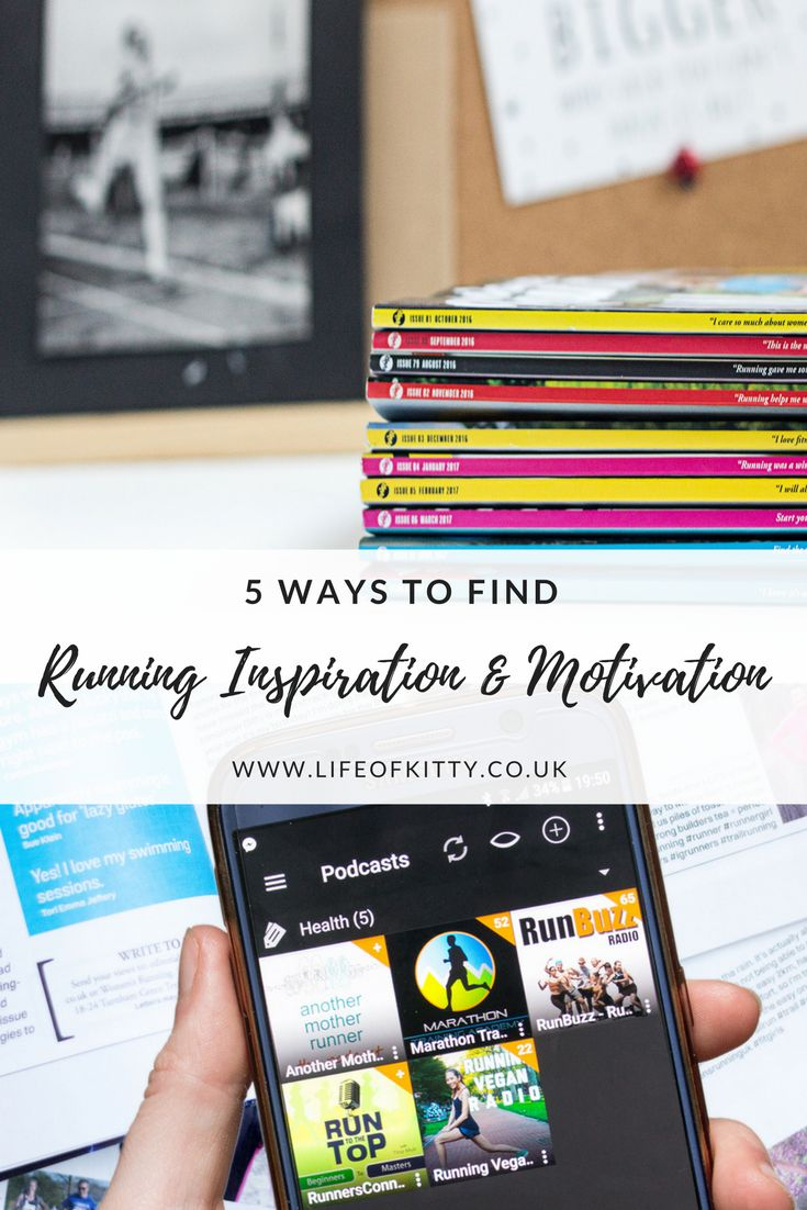 5 Ways To Find Running Inspiration And Get Motivated