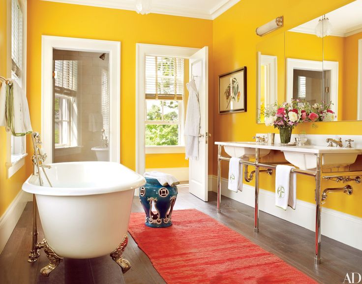Colorful Bathrooms Ideas That Will Inspire You To Go Bold Photos Architectural Digest