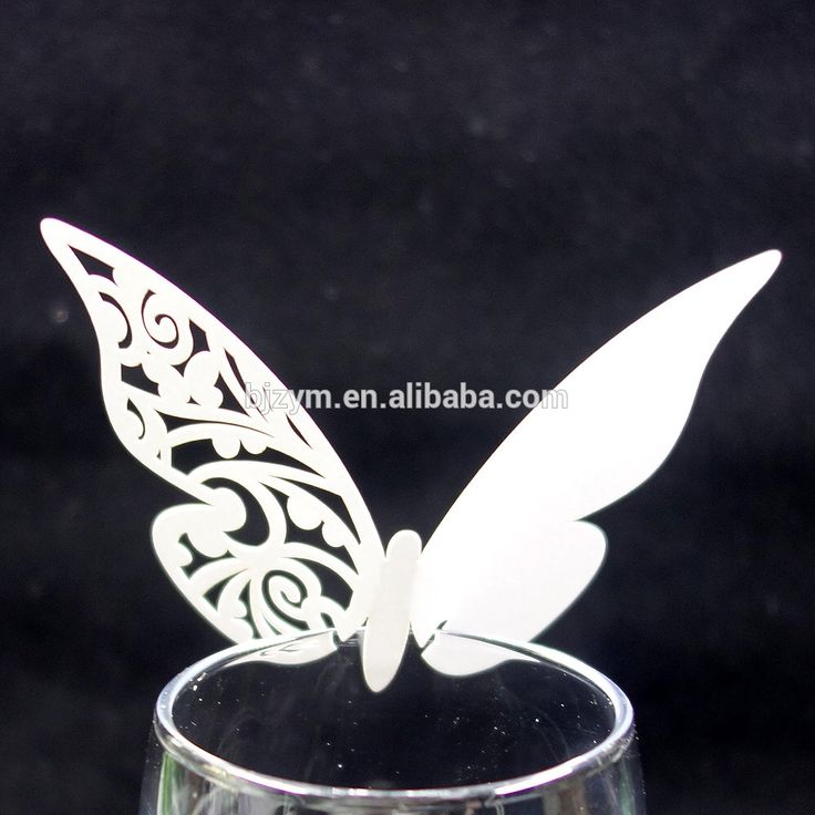 Check out this product on Alibaba.com APP Baby shower favors gifts laser cutting butterfly table name cards escort cards, free carve person names supply