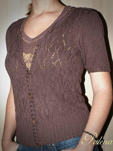 Geno by Marie Wallin   Fashion, Short sleeve cardigan ...
