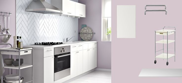 Jugendzimmer Komplett Set Ikea ~ White countertops, Countertops and Kitchens on Pinterest