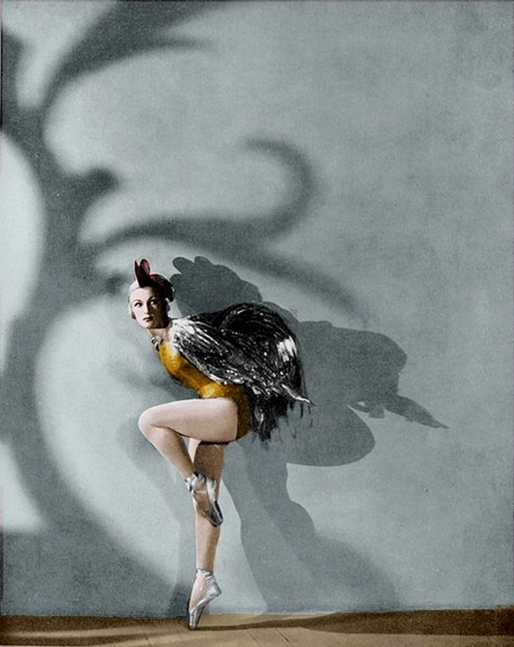 air jordan 6 retro doernbecher freestyle for sale Ballet Russes   Tatiana Ryaboushinskaya as Golden Cockerel in 1938   projected shadows as set design