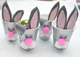 10 best easter gift ideas images on pinterest easter gift lovely handmade bunnies cups idea for easter gift alternative with silver cups and cute bunny ears and face also multi color eggs wrapped chocolates negle Gallery