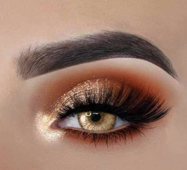 55 #Most #Sexy #and #Eye-Catching #Orange #Makeup