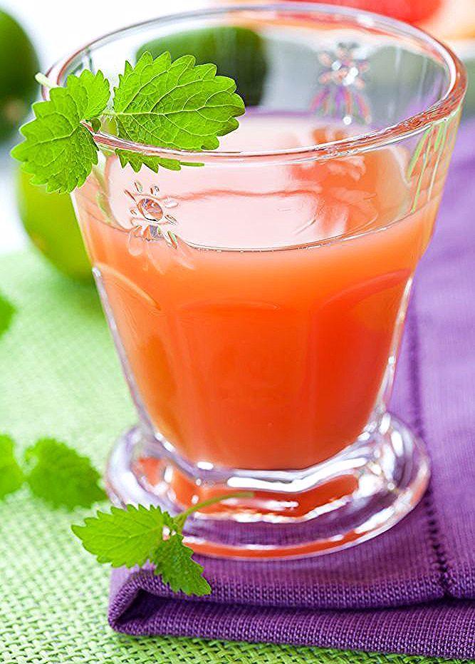 عصير الجريب فروت الاحمر والنعناع لمرضى السكري Diabetic Friendly Grapefruit And Mint Juice Bowl Punch Bowl Kitchen