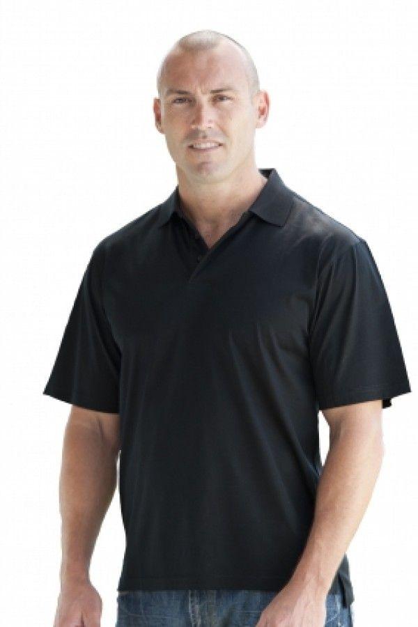 Platinum polo shirt (black) - Boostup