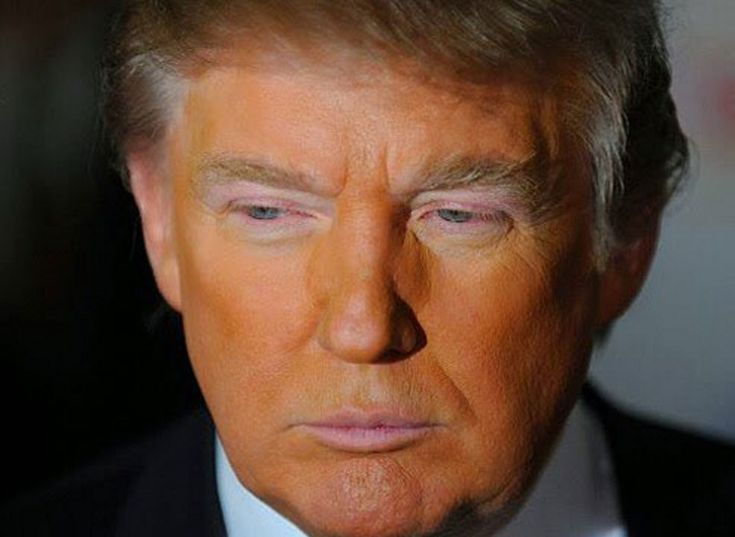 I have never fallen in love with a politician before but there is something about this beautiful orange man that lifts my spirits. #Trump2016