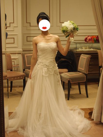 $トリートドレッシング♡リーム・アクラを着た花嫁