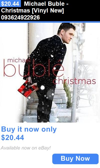 Christmas Songs And Album: Michael Buble - Christmas [Vinyl New] 093624922926 BUY IT NOW ONLY: $20.44