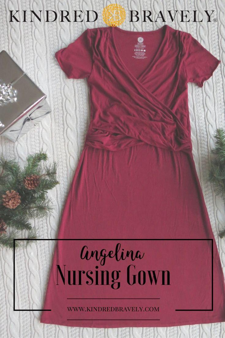 1045a45862bac The Angelina Nursing & Maternity Nightgown | Breastfeeding Fashion ...