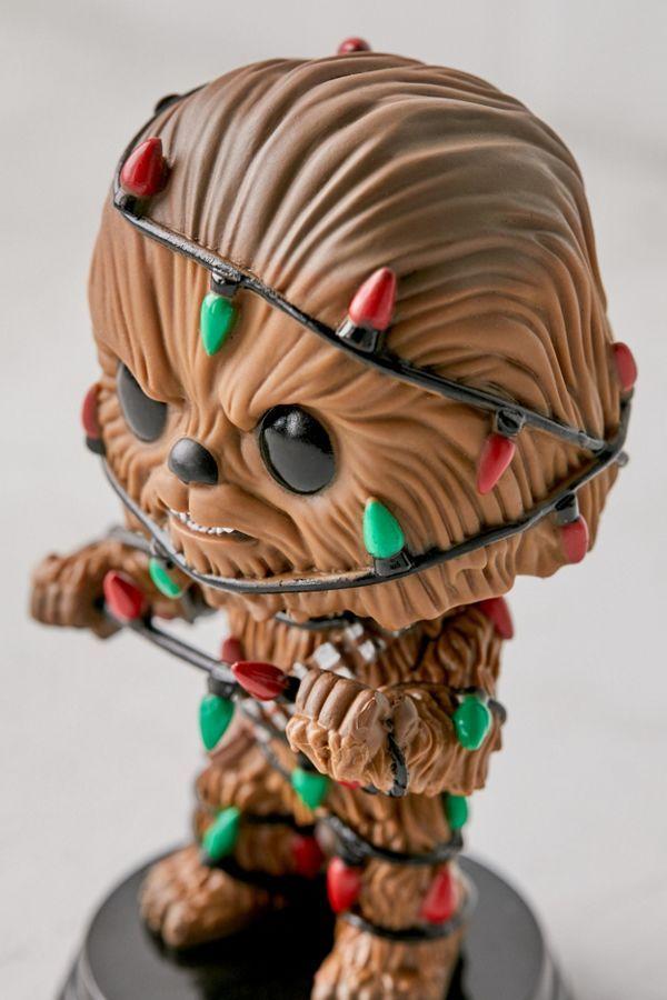 Holiday Chewbacca W//lights #33886 Funko Pop