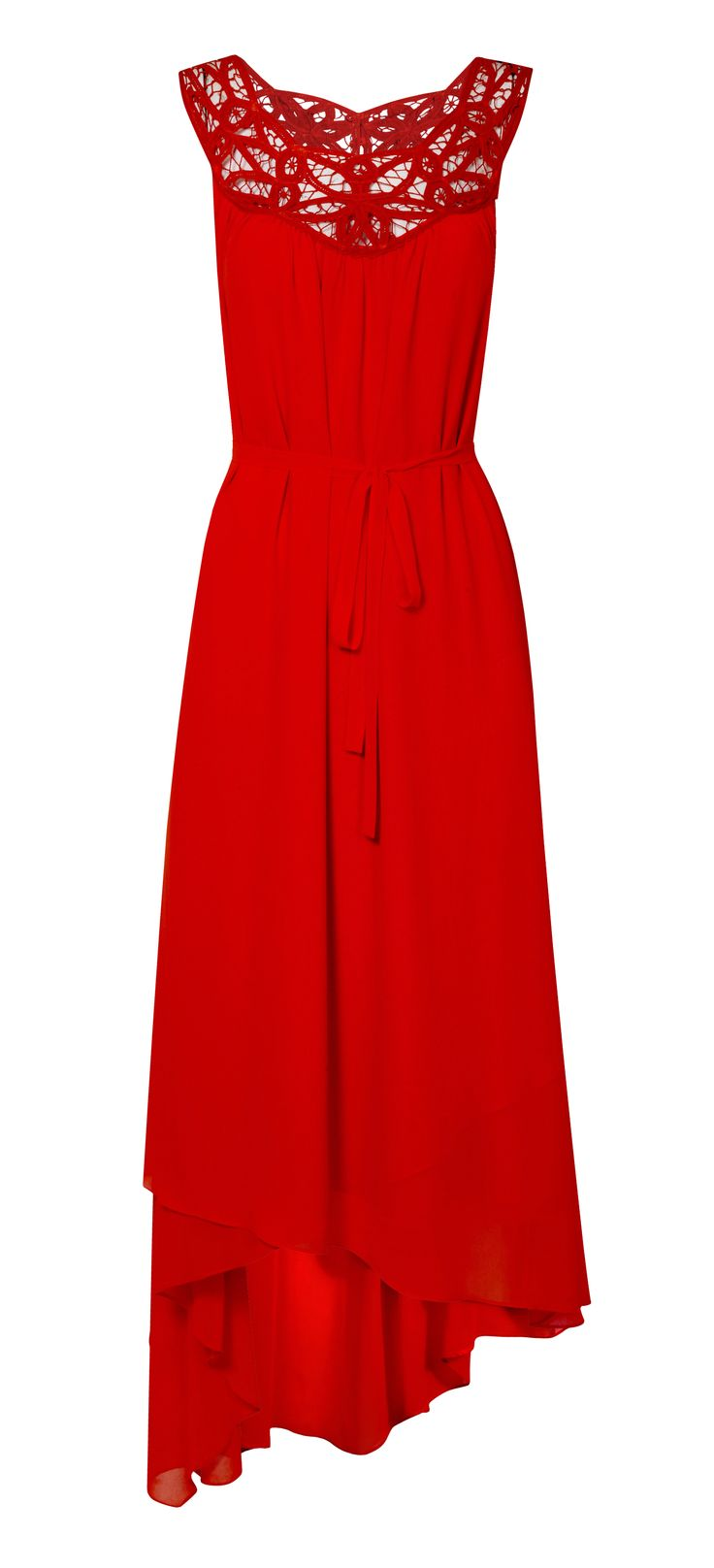 Viva Battenburg Eclipse Hem Dress, £99 www.phase-eight.co.uk