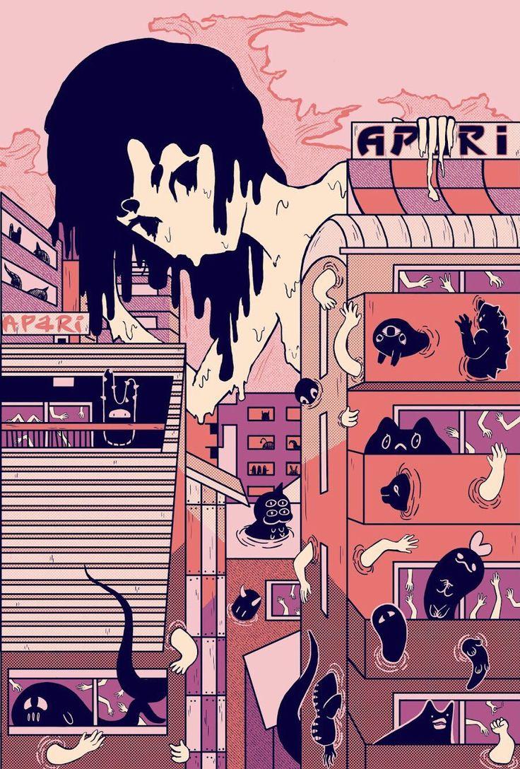 80s Retro Anime Aesthetic Wallpaper