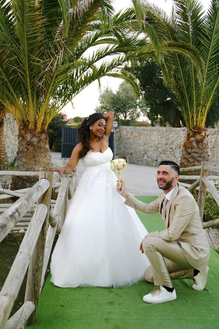 Casamento de sonho, Wedding, gold, bride, groom, bouquet, dress, love