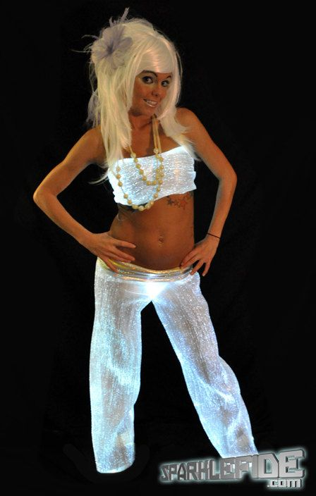 Glimmer Wear Rave Outfit. $1,200.00, via Etsy.