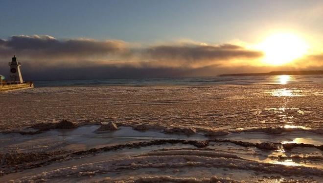 Port Dover, Ontario // Shot: January 22, 2013.