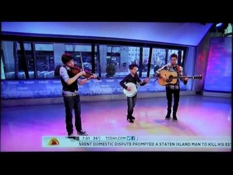Sleepy Man Banjo Boys - NBC Today Show