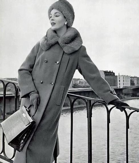 1954 Winter Coat and Hat